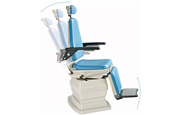 产品展示 电动治疗椅  技术参数 功能介绍:具备座位升降,靠背仰卧,腿图片